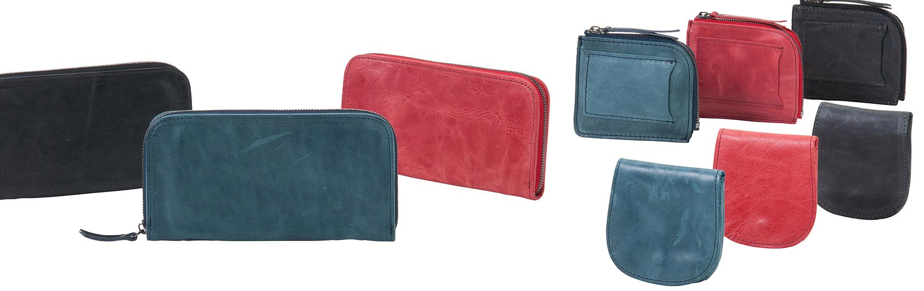 ウルフアンドドッグの革財布